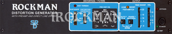 Rockman Distortion Generator