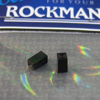 This is the hard to find small black square push button cap that snaps onto the multi-use switch on several of the Rockman Rockmodules.